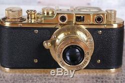 Leica Kriegsmarine Camera lens Leitz Elmar Luxury Vintage (Zorki copi)