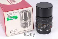 Leica Leitz 100mm/14.0 Macro-Elmar-R Lens 2928543