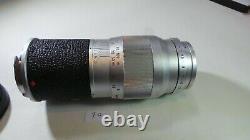 Leica Leitz 135mm F4 Elmar Chrome M Leica 13.5cm F4 Leica M Rangefinder Fit