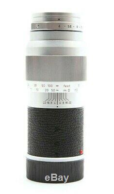 Leica Leitz 135mm f4.0 Elmar Rangefinder M Mount Lens #31614