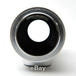 Leica Leitz 135mm f4 Elmar Contemporary Screw Mount Lens Pristine Mint
