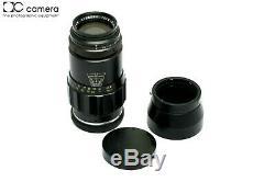 Leica Leitz 135mm f4 Tele-Elmar Rangefinder M Mount Lens with Hood #28844