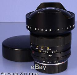 Leica Leitz 15mm Super-elmar-r F3.5 11213 3cam R Lens Pre Asph +caps Clean Nice