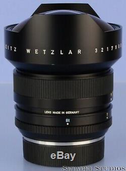 Leica Leitz 15mm Super-elmar-r F3.5 11213 3cam R Wide Angle Lens +caps Mint Rare