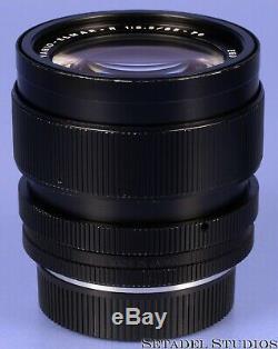 Leica Leitz 35-70mm Vario-elmar-r 11244 F3.5 Black E60 3cam R Lens +caps Clean