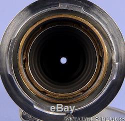 Leica Leitz 50mm Elmar F3.5 11110 Chrome Collapsible M Lens +caps Rare Clean