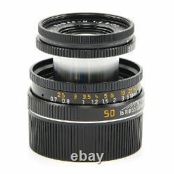 Leica Leitz 50mm F2.8 Elmar-m Black 11831 #2949