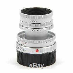Leica Leitz 50mm F2.8 Elmar-m Silver 11823 #2280