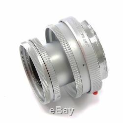 Leica Leitz 50mm F2.8 Elmar-m Silver + Box 11823 #2671