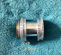 Leica Leitz 5cm F2.8 Collapsable Elmar Lens LTM With ITOOY Hood