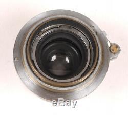Leica/Leitz 5cm F3.5 Elmar Lens m39 1935 Haze NotBad