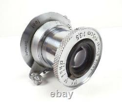 Leica Leitz 5cm f=3.5 Elmar Collapsible M39 Screw Mount Lens 01