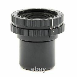 Leica Leitz 65mm F3.5 Elmar Black + Box 11162 #2679