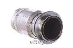 Leica (Leitz) 90mm f4 Elmar, M mount, rare 3 element parallel version