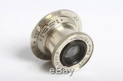 Leica Leitz ELMAR 3,5/50 Nickel Leica M39 Gewinde Screw Mount
