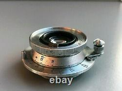 Leica Leitz ELMAR 35mm f3.5 LTM M39