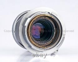 Leica Leitz ELMAR 5cm 50mm f2.8 50/2.8 M Mount ELMOM 1959 + Caps