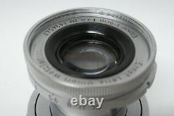 Leica / Leitz Elmar 2,8 / 5 cm Objektiv Leica M39 gebraucht 1494547