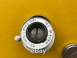 Leica / Leitz Elmar 3,5 5cm red scale M39 mount