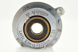 Leica Leitz Elmar 3.5cm 35mm f/3.5 L Screw Mount LTM L39 from Japan #3202