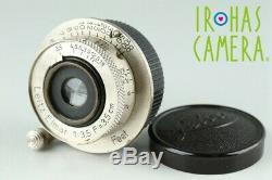 Leica Leitz Elmar 35mm F/3.5 Lens for Leica L39 #22725 C1