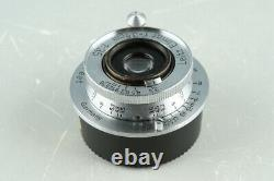 Leica Leitz Elmar 35mm F/3.5 Lens for Leica L39 #33924 C1