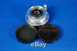 Leica Leitz Elmar 35mm f/3.5 Weitwinkel Nice Clean Eample S/N 494947