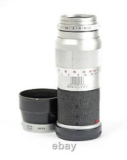 Leica Leitz Elmar 4/135mm f/4.0 135mm mount Leica M No. 1825163