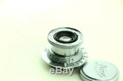 Leica Leitz Elmar 50 mm 13.5 Leica M39 mtr No. 151451