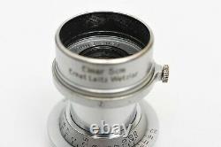 Leica Leitz Elmar 50mm 5cm f/3.5 LTM L39 M39 Lens US Seller