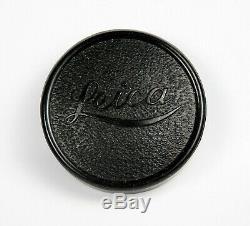 Leica Leitz Elmar 50mm, 5cm, f/3.5 LTM Lens with Leica Bakelite Cap, Excl. Cond