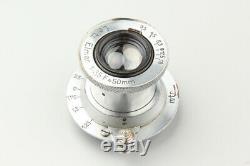 Leica Leitz Elmar 50mm 5cm f/3.5 f3.5 Manual Focus Lens, For L39 LTM Mount