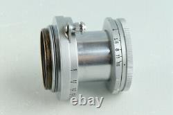 Leica Leitz Elmar 50mm F/2.8 Lens for Leica L39 #31302 C2