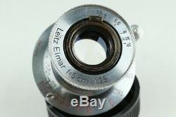 Leica Leitz Elmar 50mm F/3.5 Lens for Leica L39 #22888 C1
