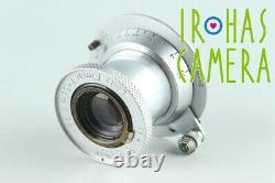Leica Leitz Elmar 50mm F/3.5 Lens for Leica L39 #26903 C1
