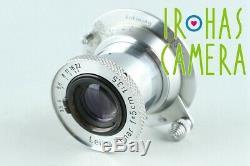 Leica Leitz Elmar 50mm F/3.5 Lens for Leica L39 #27377 C1