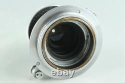 Leica Leitz Elmar 50mm F/3.5 Lens for Leica L39 #28287 C1