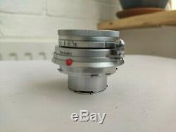 Leica Leitz Elmar 50mm f/2.8 Lens M-mount