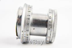 Leica Leitz Elmar 50mm f/2.8 Rangefinder Lens for M Mount V11
