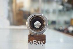 Leica Leitz Elmar 50mm f2.8 M Mount Lens with Caps