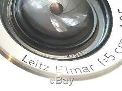 Leica Leitz Elmar 5cm 13.5 (50mm) Leica LTM screw mount M39. No. 672531 Germany