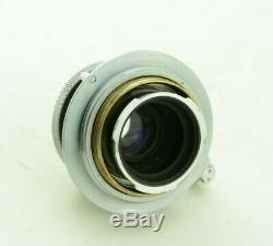 Leica Leitz Elmar 5cm 13.5 Leica 50mm M39 mtr No. 1003633, GUT