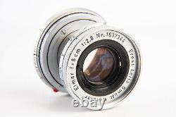 Leica Leitz Elmar 5cm 50mm f/2.8 Rangefinder Lens for M Mount V13