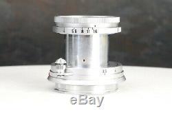 Leica Leitz Elmar 5cm 50mm f2.8 Collapsible M Mount Lens #9059 1958