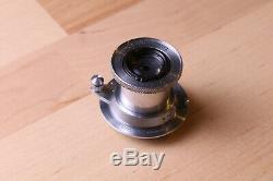 Leica Leitz Elmar 5cm 50mm f3.5 Collapsible LTM L39 Screw Mount