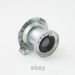 Leica Leitz Elmar 5cm f/3.5 50mm collapsible screw mount lens LTM 1938