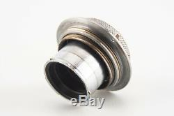 Leica Leitz Elmar 5cm f/3.5 Black Scale Lens for M39 Screw Mount V08