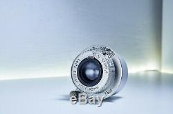 Leica Leitz Elmar 5cm f3.5 Lens in Excellent condition L39 Mount with M adapter