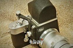 Leica Leitz Elmar 65mm f/3.5 with Visoflex III in exc++