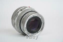 Leica Leitz Elmar 90mm 14 (Leica M mount)